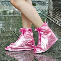 Wholesale Waterproof shoe covers for boot summer plastic rain shoe covers waterproof wear directly washed reusable shoe covers