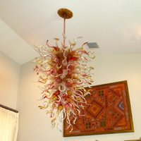 best lighting for home office - 1118 Mouth Blown CE UL Borosilicate Murano Glass Dale Chihuly Art Excellent Quality Chandelier Best Decoration for Home