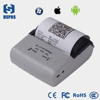 Wholesale 80mm portable mobile handheld Bluetooth thermal receipt bill Printer with Multi Language and SDK support WIFI pos printer android ios