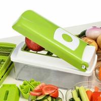 1 set Multifunción Frutas Verduras Cortadoras Pepinos Graters Patatas Peeler Apple Slicers Cocina Gadgets Caja Cocina Herramientas