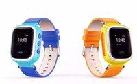 2016 Nuevos Niños GPS Q60 reloj de pulsera inteligente SOS Llamada Localizador de Ubicación Localizador de Dispositivo Tracker para Kid Safe Anti Lost Monitor
