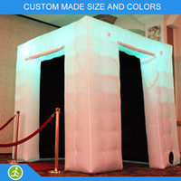 Wholesale commercial led light inflatable led photo booth