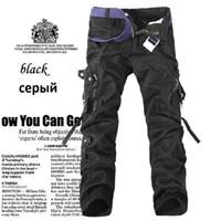 Wholesale MDJ Size28 Pockets High Quality Casual Cargo Pants For Men Cotton Trousers XL Mens Baggy Pants Pantalones Hombre