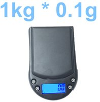 Wholesale 1000g g kg portable Electronic LCD Digital Scale Jewelry Diamond Weighting Weight Scale with backlight