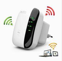 al por mayor n nuevo repetidor inalámbrico wifi-2016 WIFI EXTENDER Nuevo 300Mbps 802.11 Wifi Repetidor Wireless-N AP Amplificador de señal de señal de amplificación WIFI
