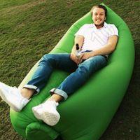 Wholesale 10PCS HHA835 New arrived Lamzac Siest Fast inflate Sleep Bag Hangout lamzac Lounge Chair Air Sofa sleep bed