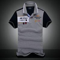 Wholesale 2016 Men s short sleeve tees polos shirt men polo T shirt lapel casual polo shirts Men s clothing summer golf tess high quality slim polos