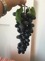 artificial grape vines for sale - Hot sale Artificial Grapes Vine and Grapes For Home and Wedding Decoration lovely decoration for home