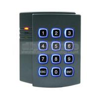 Wholesale RFID KHz ID Card Reader Password Door Access Controller Keypad Free ID Key Fob Brand NEW