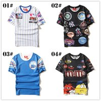 baseball style shirts for women - 2016 New Fashion Summer Hip Hop t Shirts For Men Women Harajuku Style Racing Mens t Shirts Baseball Outdoor Sports Shirt Tops