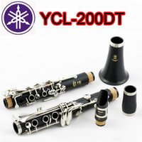 Wholesale High quality Clarinet YCL DT Professional Key Bb Klarinet Bakelite Nickel Plated Klarnet Musical Instrument Accessories