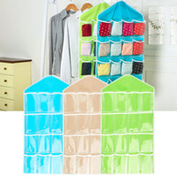 Wholesale Portable Pockets Hanging Bag Toys Storage Tidy Wall Closet Organizer Hot
