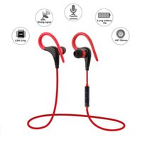 Wholesale 2016 New Fashion Wireless Sports Earphone With Mic Remote Control Bluetooth Stereo Headset Headphones for iPhone Xiaomi Sony