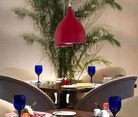 aluminum kitchen tables - Nordic classic combination meals chandeliers Aluminum tulip chandelier lamp E27 Modern minimalist table lamp creative bar