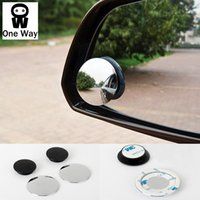 Wholesale Auto Wide Angle Round Convex Mirror Car Vehicle Side Blindspot Blind Spot Mirror Wide RearView Mirror Small Round Mirror