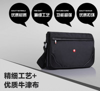 Wholesale Swiss Army knife Fashion Shoulder Bag Messenger Bag bag bag cross work inch computer bag A4 briefcase