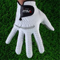 Wholesale Mens Golf Gloves High Quality Genuine Leather Soft Nonslip Breathable Sheepskin Left Hand Right Hand Outdoor Golf Sport Gloves