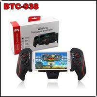 Extensión inalámbrica Bluetooth Telescopic Controller BTC-938 BTC938 Juego joystick Gamepad para Android teléfono iPad Samsung S6 S7
