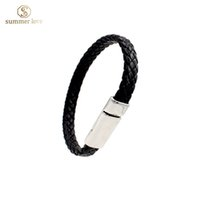 best seller gifts - 2016 new unisex black pu leather bracelet women and men length cm quot jewellery wristband best seller