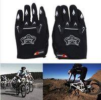 Gants de moto pour adulte Guantes Motos de moto MX ATV Quad Dirt Trail Pit Bike BMX DH