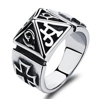 best pyramids - Pyramid Design Man Party Ring Punk Style Stainless Steel MM Width Men s Personality Jewelry Best Gift For Man Punk Style Ring