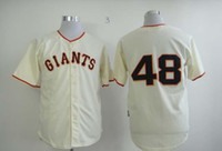 best apparel brands - Fashion Baseball Jerseys San Francisco Giant Cream Color Jerseys Pablo Sandoval Brand Embroidery Jersey Best Selling Athletics Apparel