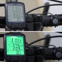 Wholesale Waterproof Multifunction Cycling Computer Bicycle Speedometer Odometer LCD Backlight Backlit Bike Computer