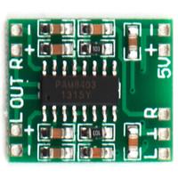 Wholesale NEW Channels W Digital Power PAM8403 Class D Audio Module Amplifier Board USB DC V Mini Class D Digital Amplifier Board LCD