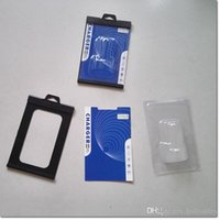 Wholesale new design universal package plastic card slot with paper and blister pack for car charger wall charger dhl