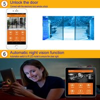Wholesale wifi smart doorbell with motion sensor video doorbell system support iOS and Android smart phone