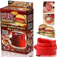 pizza machine - Stufz Manual Hamburger Press Hamburger Mold Pizza Patty Maker Burger Maker Kitchen Meat Poultry Stuffed Tools Meat Hamburger Machine PPA30