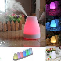 Wholesale By DHL ml Essential Oil Diffuser Portable Aroma Humidifier Diffuser LED Night Light Ultrasonic Cool Mist Fresh Air Spa Aromatherapy