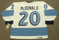 ab xl - Customize Pittsburgh Penguins AB McDONALD CCM Vintage Away white Hockey Jerseys embroidered name and logos