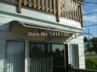 awnings patios - DS100300 A x300cm depth cm width cm outdoor patio awning simple to install aluminum door awning