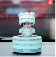 article beauty - Car perfume drill furnishing articles star beauty mask qiqi crystal female cute doll car perfume smell