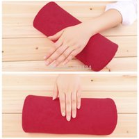 Wholesale hand rest Nail art manicure cushion Pillow Salon nail Hand Holder pillow soft Nail Arm Rest Manicure Accessories Tool Equipment