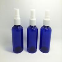 Wholesale 600 Piece Blue Atomizing Packing Bottle Plastic Spray Bottle Plastic Bottle Perfume Bottle Mini Perfume Spray Sample Bottles ML