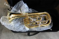 Wholesale Baritone Piston Brass Body With Foambody case and mouthpiece Musical instruments