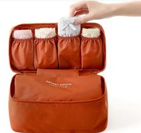 Wholesale Travel Organizer Bra Underwear Pouch Cosmetic Bag Portable Luggage Storage Colors