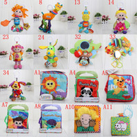 Unisex bags clearance - Clearance saleLamaze Toy Crib toys with rattle teether infant early development plush styles in opp bag