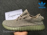 Cheap Adidas Yeezy Boost 350 Monnrock AQ2660 Mens Running Shoes Women Kanye West Yeezy 350 Yeezys Season Yezzy Sports Shoes With Original Box