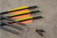 arrow nocks - quot carbon Crossbow Bolts quot Vane Nocks pc black back arrow quiver holder archery bow outdoor