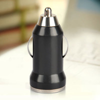 Wholesale Colorful Bullet Mini USB Car Charger Universal Adapter for iphone S plus S5 S6