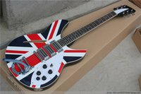 Wholesale Made in China guitar UK flag top string Ricken style electric guitar