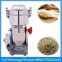 Wholesale 1000g electric herb grinder Household small herbal pulverizer Small pulverizing machine malt grain grinding machine