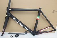 Wholesale 2016 carbon road frame full carbon fiber road bicycle frame black white carbon fiber frameset with frame fork seatpost headset