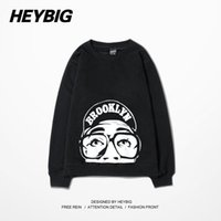 bboy hoodies - 2016 Brooklyn Men Hoodie Head Print Male Skateboard Tracksuits Bboy Dancer Sweatshirts Rock Hip Hop Sportswear Plus Size S XXL