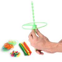 bamboo discount - Classic Toys Rotated Manually Flying Saucer Big Discount Amazing Party Game