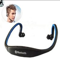Wholesale S9 Sport Wireless Bluetooth Earphone Headphones Headset With Micphone for iOS Android