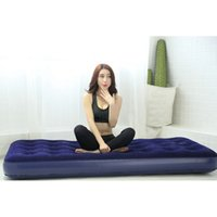 Wholesale High Quality Inflatable Mattress Outdoor Camping Travel Portable Sleeping Bed Multi Use Travel Air Cushion Sleeping Pad JF0066
